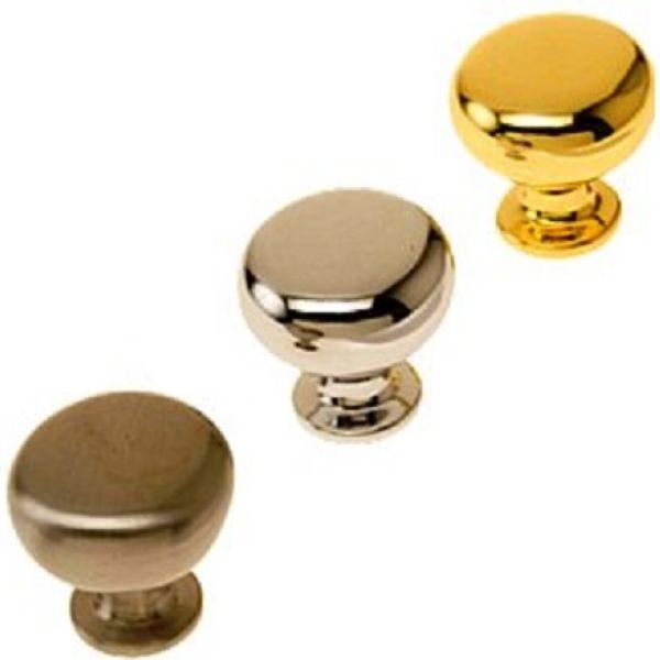 Ручки кнопки мебельные