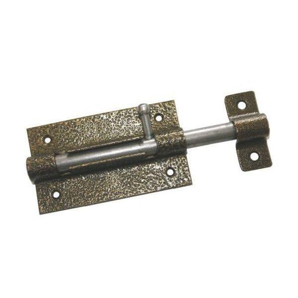Задвижка дверная ЗД07 медь Стержень: оцинкованный 160 мм , д14мм