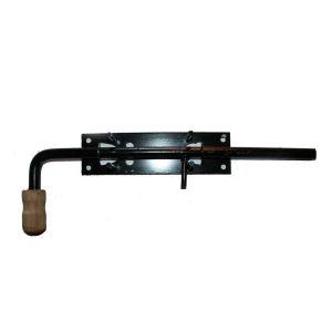 Задвижка гаражная вертикальная с ручкой 250/70мм №11