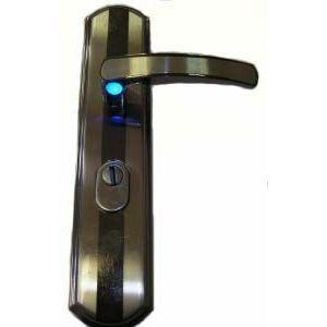 Ручка КАСКАД 211L для стальных дверей с подсветкой левая