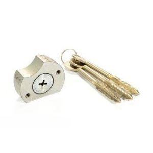 Цилиндровый механизм Сельмаш ЗН-053-01 ключ-ключ хром
