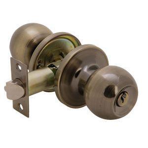 Ручка защелка с ключом 535-АВ-ET бронза