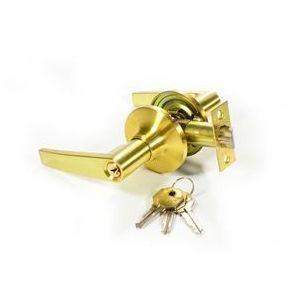 Ручка защелка с ключом IDEA 735-СР-ET хром