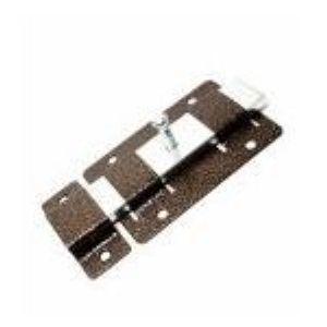 Задвижка дверная  прямая плоская ЗД02 медь
