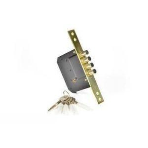 Замок врезной КАСКАД СК 189-F4 с крестообразным ключом