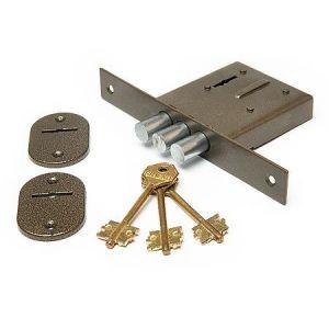 Замок врезной Симеко БИФ-0010 неполн. комплект 3 ключа