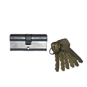 Цилиндровый механизм Мотор-Сич МЦ1(03) ключ-ключ хром 6 ключей