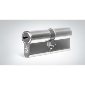"Цилиндровый механизм КРИТ ""PERFO"" Р-220(60)-Хп ключ-ключ хром полир."
