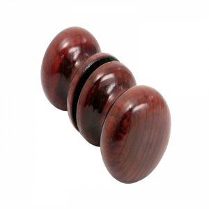 Ручка круглая Р5 красное дерево лак d60 средняя