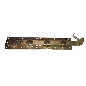 Задвижка амбарная желтая 190*75 мм №31