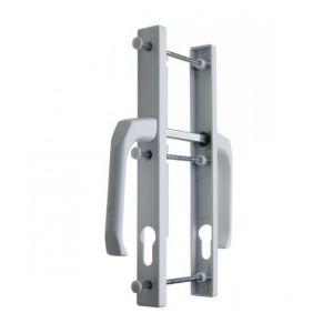 Ручка для пластиковых дверей белый 25/92 мм