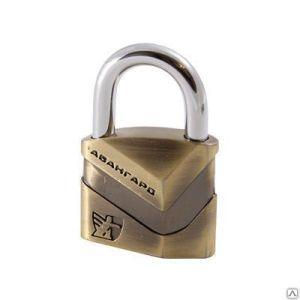 Замок навесной АВАНГАРД ВС2Д-50 Диско бронза d8mm (6/48)