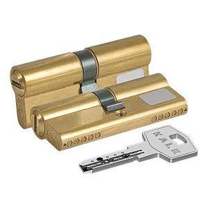 Цилиндровый механизм KALE KILIT 164 BN/68 ключ-ключ латунь
