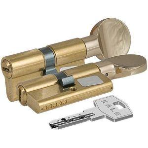 Цилиндровый механизм KALE KILIT 164 BM/68 ключ-вертушка латунь