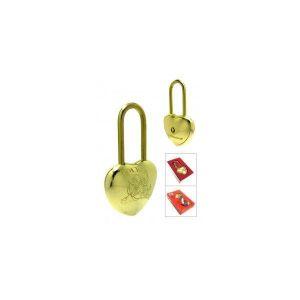 Замок навесной КАСКАД ВС 1-3D G сувенирный золото