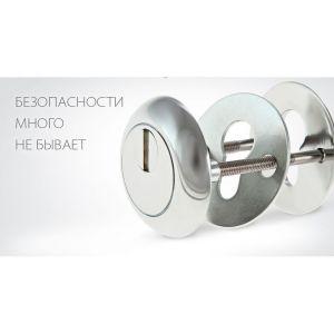 Броненакладка КРИТ БН-11-Хп хром полированный
