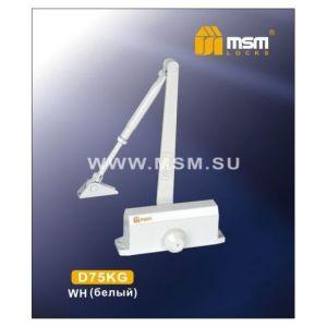 Доводчик MSM D75KG WH белый