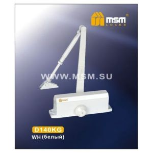 Доводчик MSM D140KG WH белый