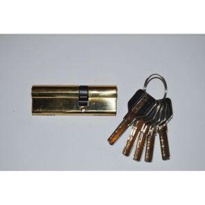 Цилиндровый механизм MSM C55/35 PB перфо ключ-ключ полированная латунь