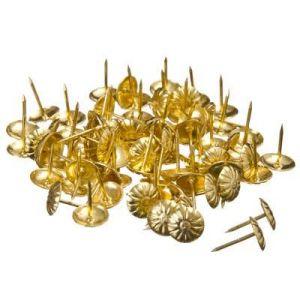 Гвозди мебельные KL-312 PB(золото)