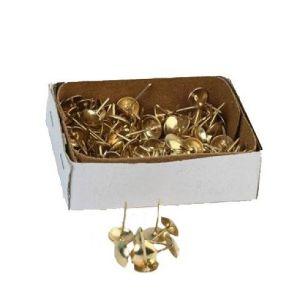 Гвозди мебельные KL-412 PB (золото)