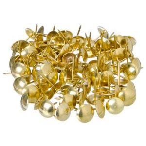 Гвозди мебельные KL-506 PB (120PCS) (золото)
