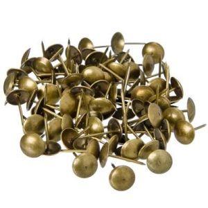 Гвозди мебельные KL-506 AB (бронза)