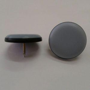 Подпятник круглый  KL 778- d19 серый