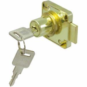 Замок мебельный KL-138 PB (золото)