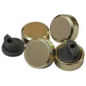 Зеркало держатель KL-38 PB (золото)