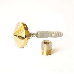 Зеркалодержатель конус KL-559 PB золото
