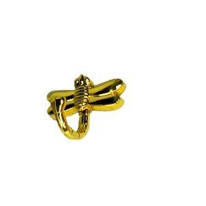 Крючок мебельный KL-202 PB (золото)