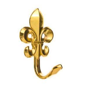 Крючок мебельный KL-203 PB (золото)