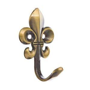 Крючок мебельный KL-203 AB (бронза)