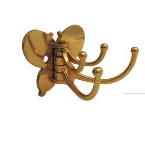 Крючок мебельный KL-205 PB (золото)