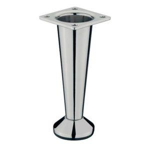Мебельная ножка KL-384 CP (хром)