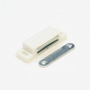 Мебельный магнит средний  KL-32  белый