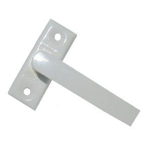 Ручка завертка оконная KL-166 WW (белый)