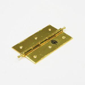 Петля универсальная KL-3- 75M (пара) PB (золото)