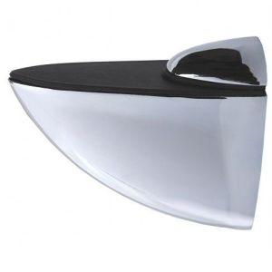"""Полкодержатель """"пеликан""""  большой KL-107 CP (хром) Размер: 10 х 9 х 3,5"""
