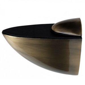"""Полкодержатель """"пеликан""""  большой KL-107 AB (бронза) Размер: 10 х 9 х 3,5"""