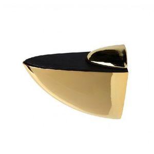 "Полкодержатель ""пеликан""  средний KL-108 PB (золото) Размер: 7 х 5,5 х 3 см."