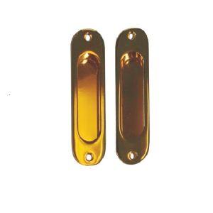 Ручка ABV для раздвижных дверей - купе PB (золото)