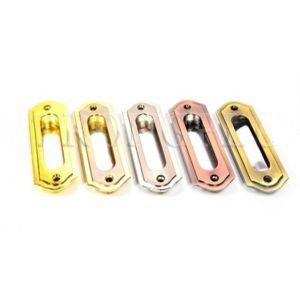 Ручка для шкаф купе KL-389 PB/SS (комбинированный золото и мат. хром)