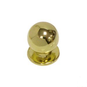 Ручка кнопка мебельная KL-288 PB (золото)