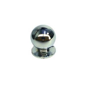 Ручка кнопка мебельная KL-288M CP (хром)