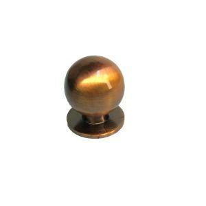 Ручка кнопка мебельная KL-288M AC(медь)