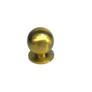 Ручка кнопка мебельная KL-288M AB(бронз)