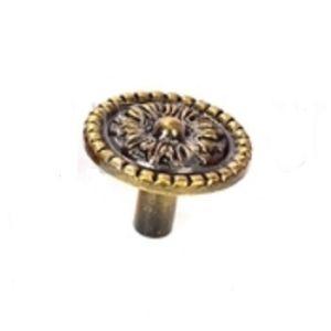 Ручка кнопка мебельная KL-348 AB (бронза)
