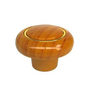 Ручка кнопка мебельная KL-42 SW (орех)